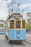 Tram di Gothenburg Liseberg Fotografia Stock Libera da Diritti