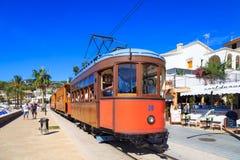 Tram di Mallorca Fotografie Stock Libere da Diritti
