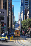 Tram di San Francisco Fotografie Stock