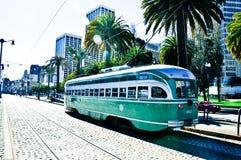 Tram di San Francisco Immagini Stock