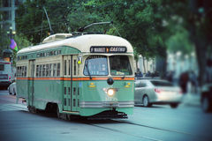 Tram di San Francisco immagini stock libere da diritti