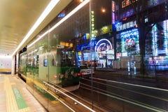 tram di Sapporo Fotografia Stock Libera da Diritti
