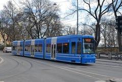 Tram di Stoccolma Immagini Stock