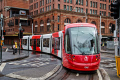 Tram di Sydney Immagine Stock