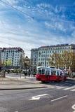 Tram di Vienna Immagini Stock Libere da Diritti