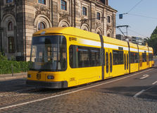 Tram in Dresden Royalty Free Stock Photos