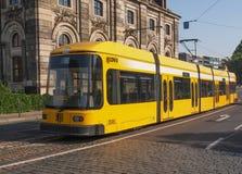 Tram in Dresden Royalty Free Stock Photos