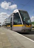 Tram in Dublin Stock Afbeelding