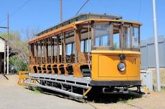 Tram elettrico storico immagine stock libera da diritti