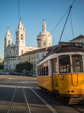 Tram in Estrela Royalty Free Stock Images