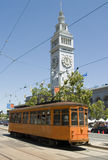 Tram and Ferry Building Royalty Free Stock Photos