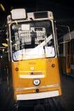 Tram in garage Stock Image