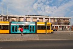 Tram of Germany Stock Photo
