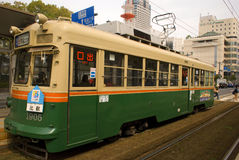 Tram, Hiroshima, Japan Stock Photography