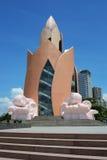 Tram Huong (Lotus Flower) Tower in Nha Trang Stock Image