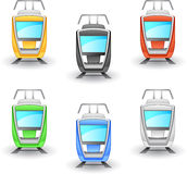 Tram icon Stock Photos