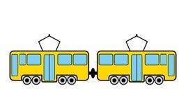 Tram icon Stock Image