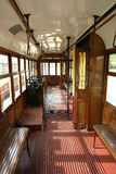 Tram inside Royalty Free Stock Images