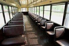 Tram inside Royalty Free Stock Photo