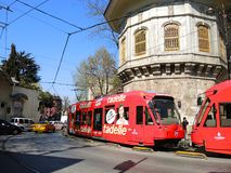 Tram in Istanbul, Turkey. Stock Photography