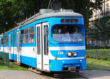 Tram in Krakow Stock Photos
