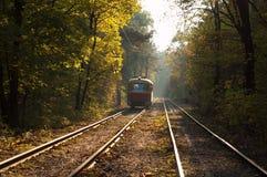 Tram  in Kyiv, Ukraine Royalty Free Stock Image