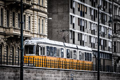 Tram line 2 in Budapest Stock Image