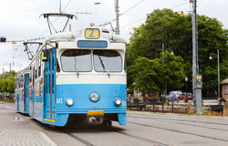 Tram on line 2 Stock Photography