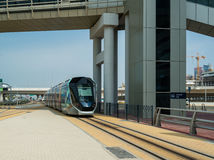 Tram line Royalty Free Stock Images