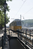 Tram line no 2, Budapest, Hungary Royalty Free Stock Photo