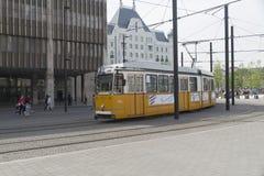 Tram line no 2, Budapest, Hungary Stock Image
