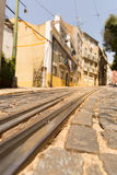 Tram-lines Royalty Free Stock Photo