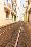 Tram-lines Royalty Free Stock Images
