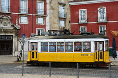 Tram Lisbon, Lisboa, Lissabon 14 Royalty Free Stock Photography