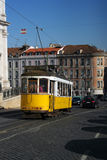 The tram 28, Lisbon, Portugal Royalty Free Stock Image