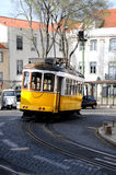 Tram in Lisbon Royalty Free Stock Photos
