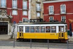 Tram Lisbona, Lisbona, Lissabon 14 Fotografia Stock Libera da Diritti