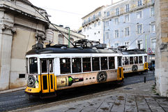 Tram in Lissabon Stock Fotografie