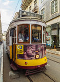 Tram in Lissabon Royalty-vrije Stock Fotografie