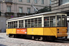 Tram in Milan, Italy Royalty Free Stock Images