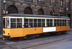 Tram in Milan Royalty Free Stock Photo