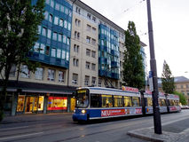 Tram in Munich, Germany Royalty Free Stock Photos
