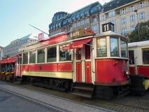 Tram. Old tram in Prague, Czech Republic Royalty Free Stock Image
