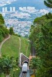 Tram at Penang hill Stock Images