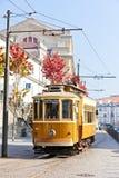 Tram, Porto royalty-vrije stock foto's