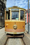 Tram in Porto. Historic tram in the city of Porto, Portugal Royalty Free Stock Photo