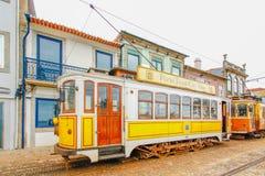 Tram in Porto, Portugal Lizenzfreie Stockfotografie