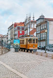 The tram in Porto Stock Photo