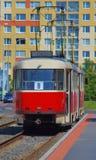 Tram in Prague, Czech Republic Royalty Free Stock Photo