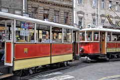 tram Prague   Czech Republic Royalty Free Stock Image